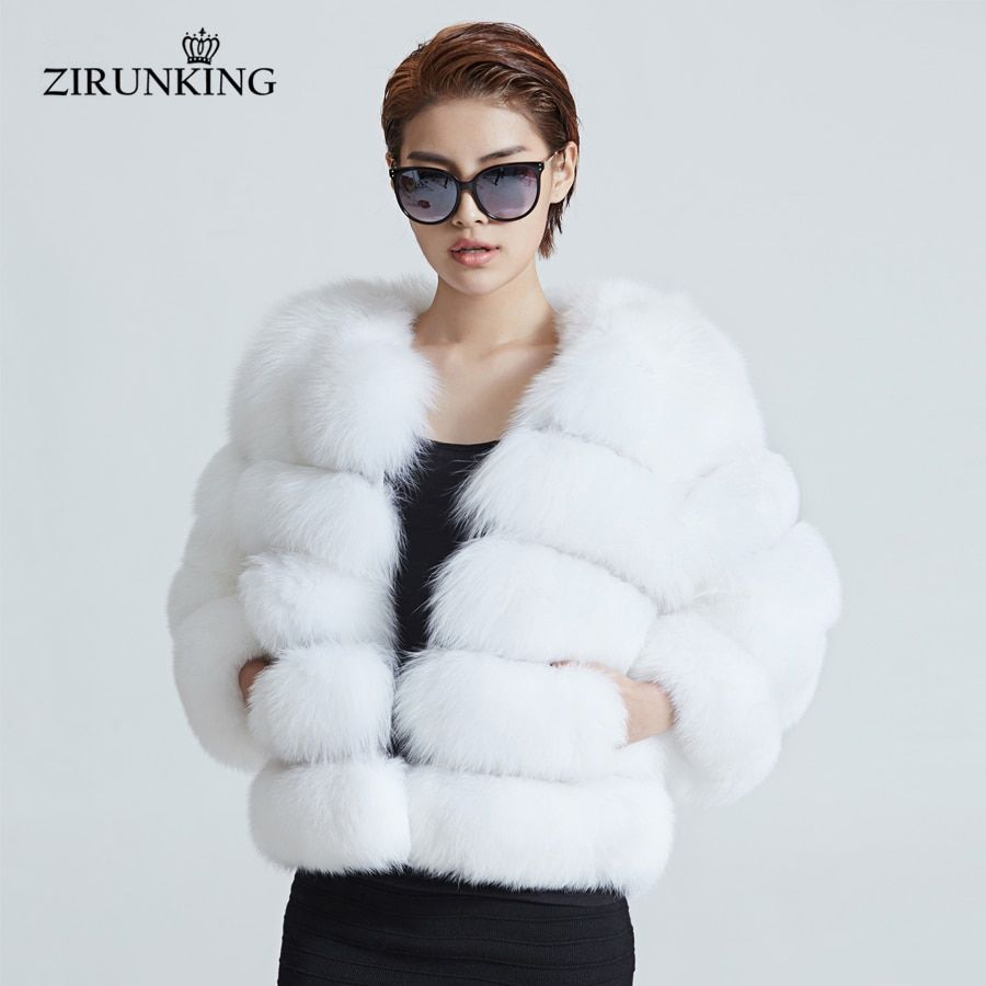 aa51b0ea18974 Fashion Real Fur Jacket Women Warm ...