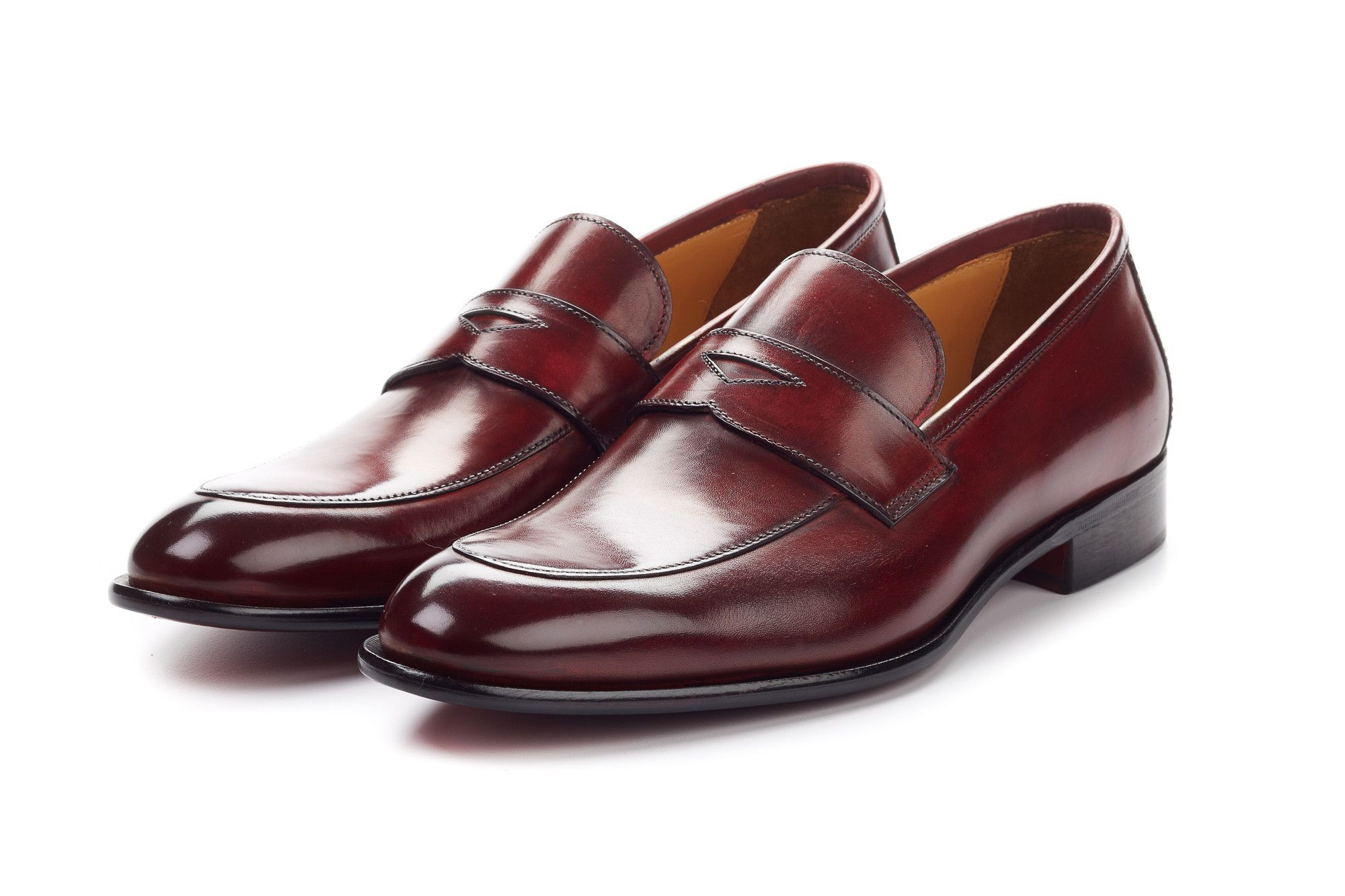 The Stewart Penny Loafer Oxblood Can I Kick It Mens Loafers