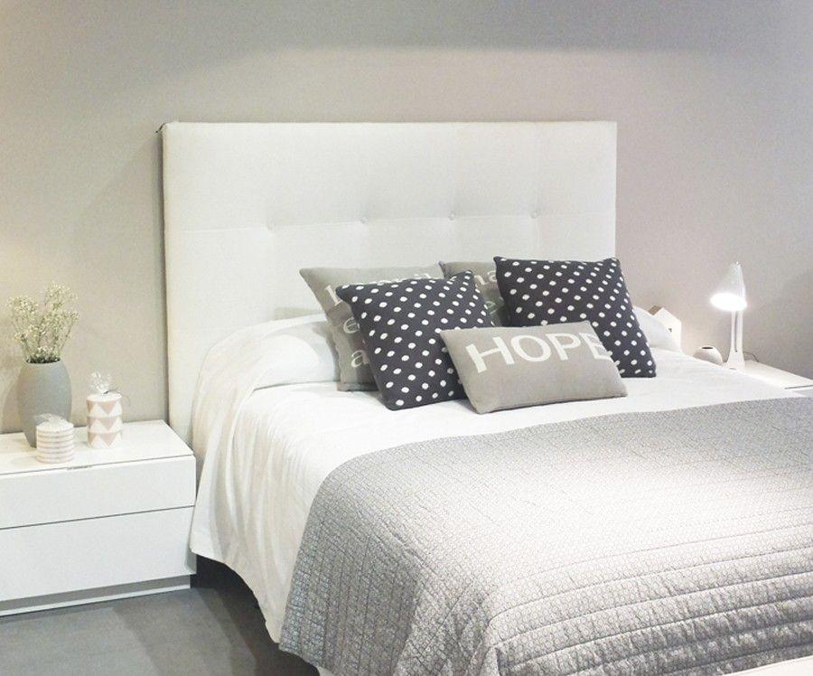 Dyon cabecero tapizado en tela recetas pinterest for Cabeceros de cama tapizados