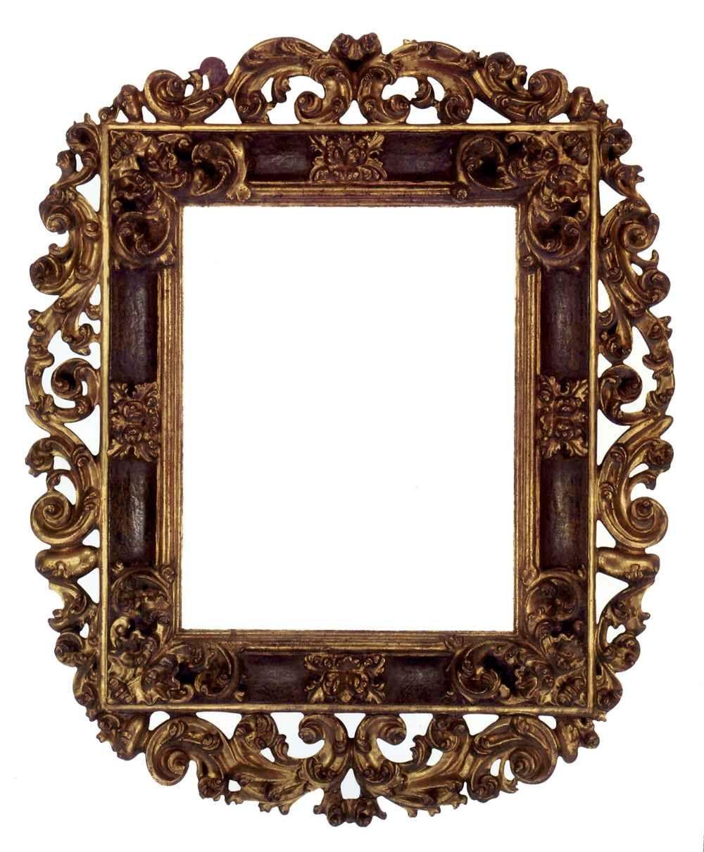 cool gold wooden frames Cornici