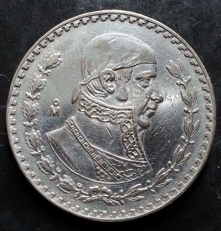 1966 Silver Peso Historic Mexico Silver Coin 61 Years Old