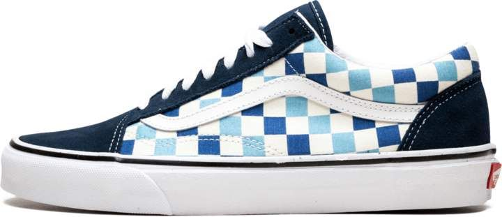 7d05c72aeb Vans Old Skool (Checker Board) - Checker Board Blue Topaz