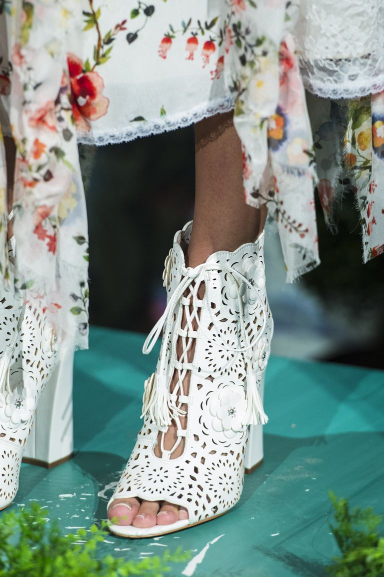 shoe trend 2018 All the best footwear spotted at Fashion Month (so far).