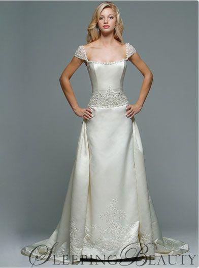 Amazing Sleeping Beauty Disney Wedding Dress