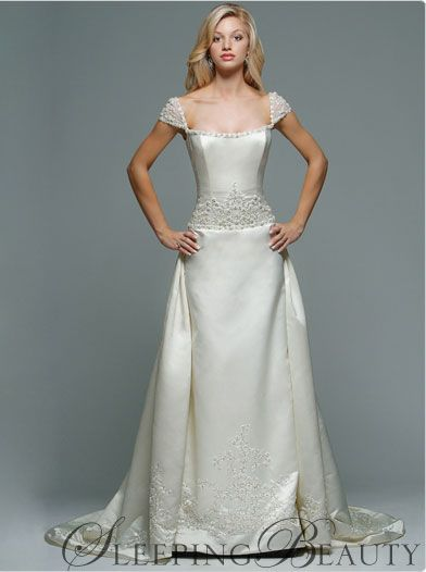 Sleeping Beauty Disney Wedding Dress
