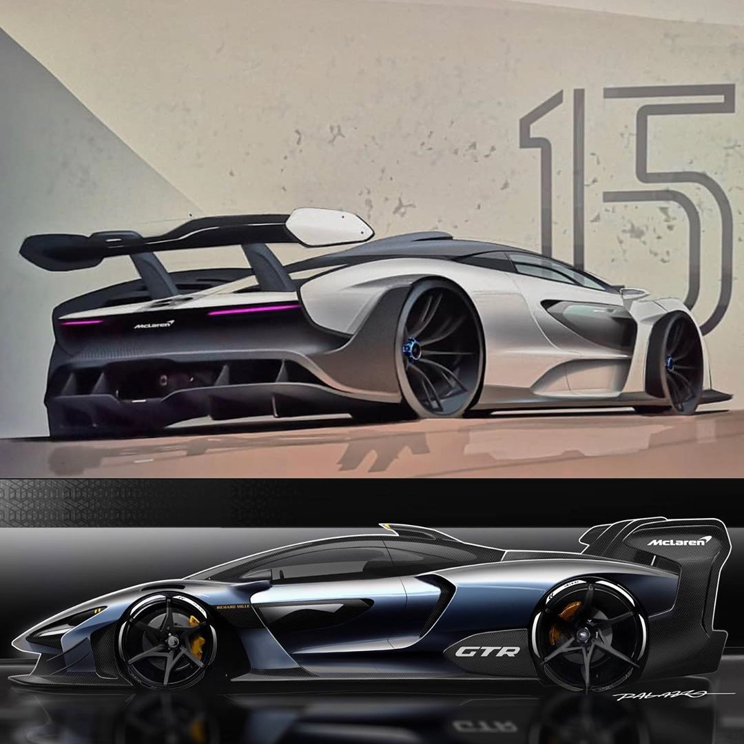 Car Design Daily On Instagram Mclaren Senna And Senna Gtr Sketches By Esteban Palazzo Which One Would You Pick For More D In 2020 Car Design Car Car Inspiration
