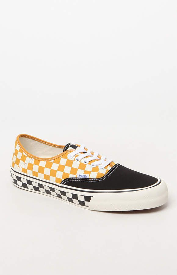 942b5ffb3b9 Vans Authentic SF Surf Checkerboard Shoes