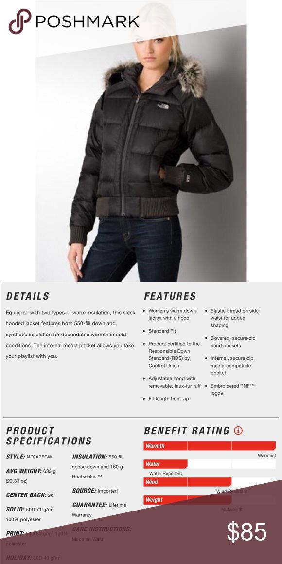 North Face Gotham Bomber North Face Jacket Sleek Jacket Clothes Design