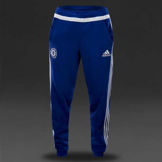 adidas Chelsea 15/16 Core Sweat Pants - Mens Replica - Blue/White