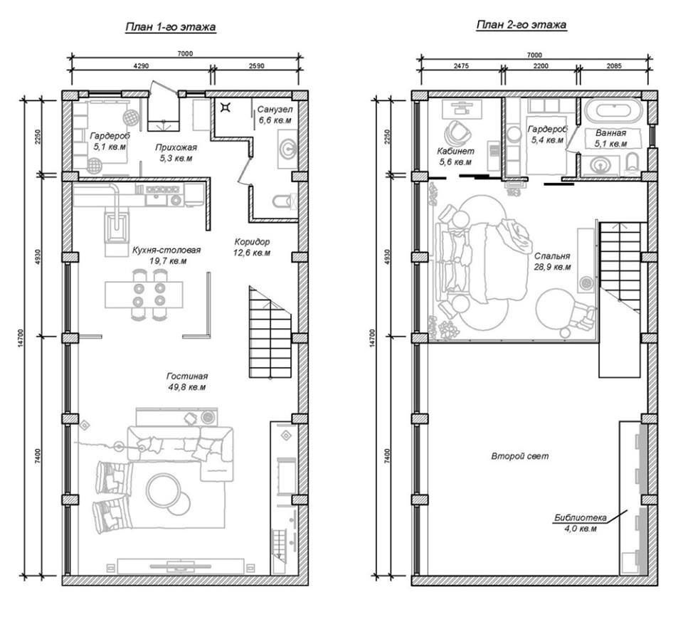 Cool Maisons With Plan Maison En Longueur