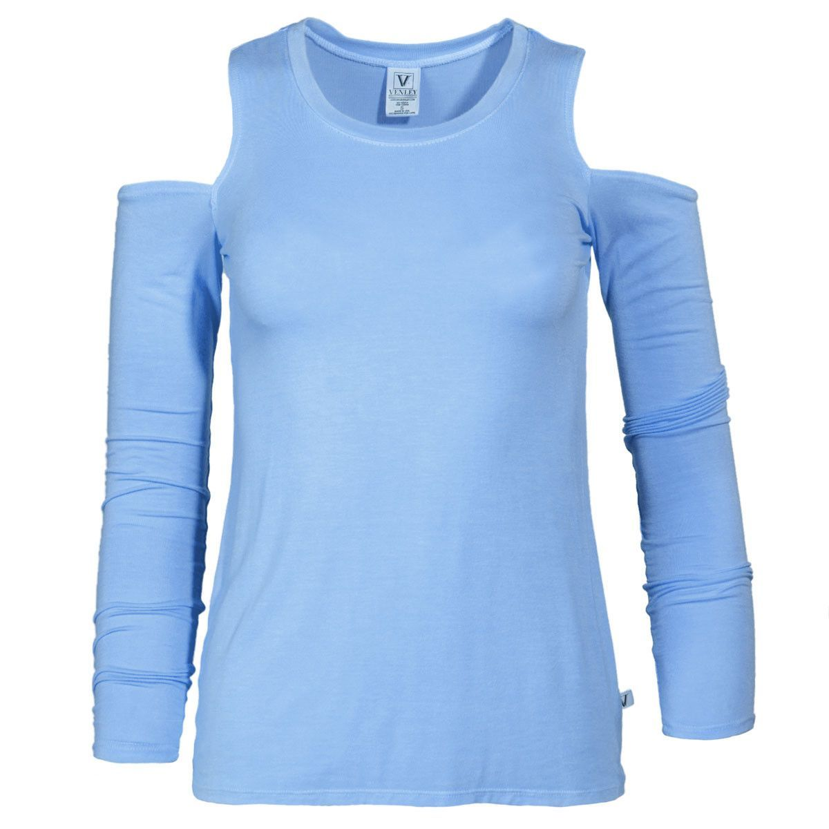 Beverly- Women's Cold Shoulder Long Sleeve
