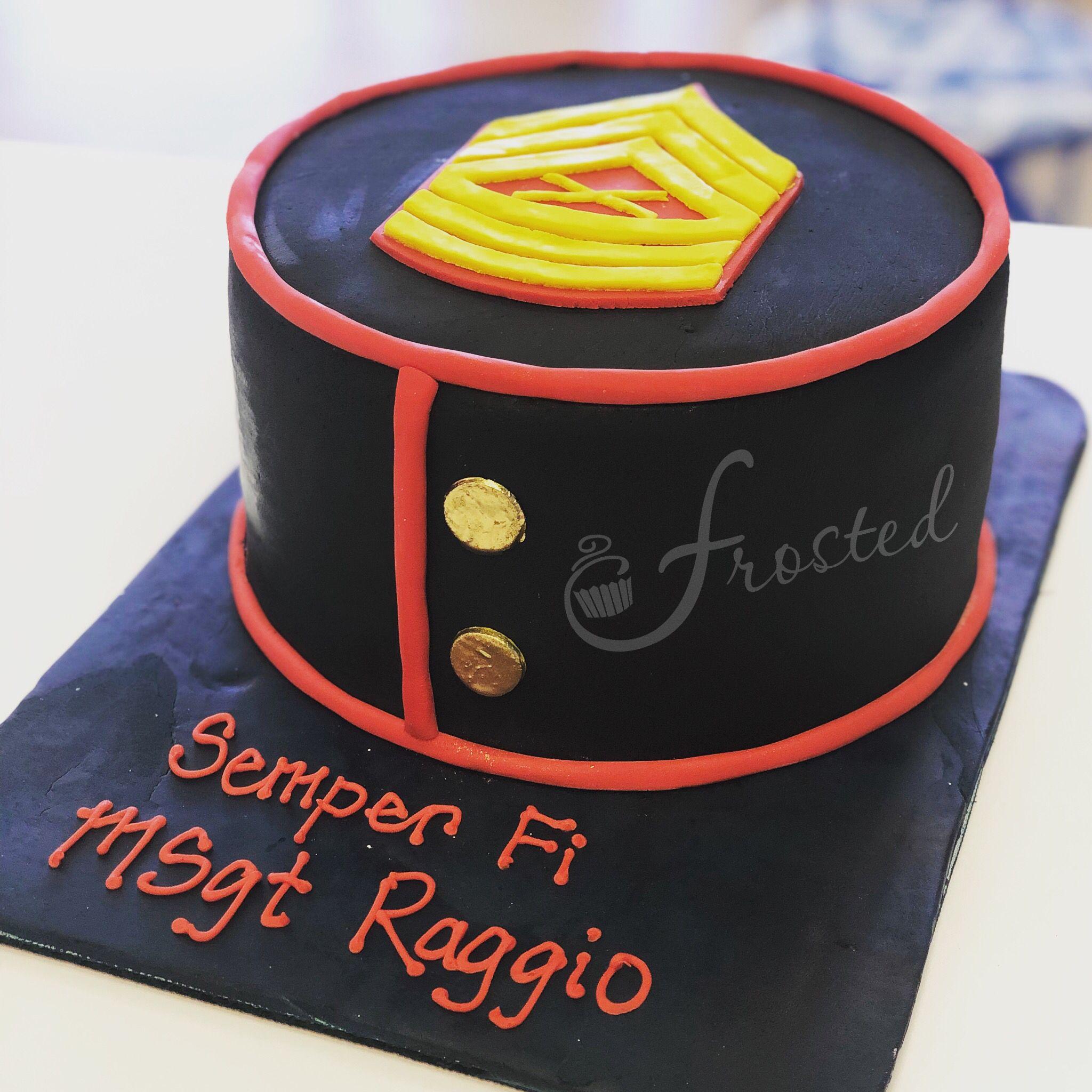 USMC cake Marine corps cake, New cake design, Marine cake