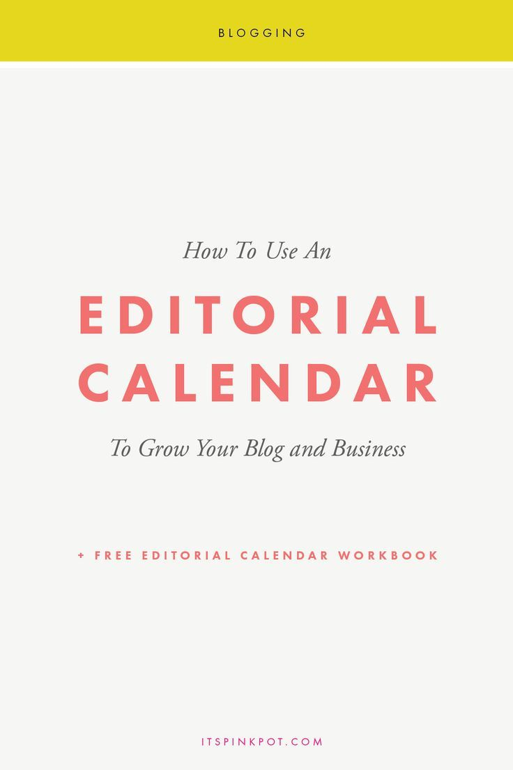 Want to enhance your content marketing strategy to grow your business? An editorial calendar is your best friend! Download a free editorial calendar worksheet to help you!
