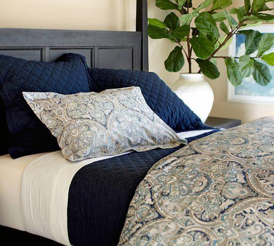 Indigo Paisley Duvet Cover Sham Pier 1 Imports Paisley Duvet Duvet Cover Master Bedroom Paisley Bedding