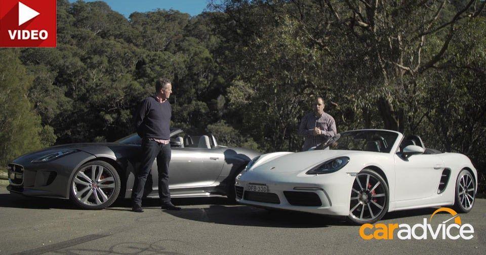 Porsche Boxster S Vs Jaguar F-Type Comparison Reveals Two Polar Opposites #Australia #Jaguar