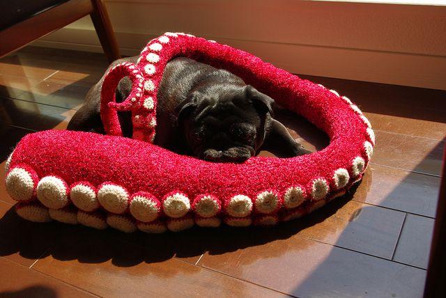 crochet Big octopus legs