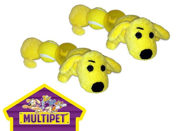 Loofa Caterpillar W Multi Ballz Dog Toy On Sale W Free Shipping