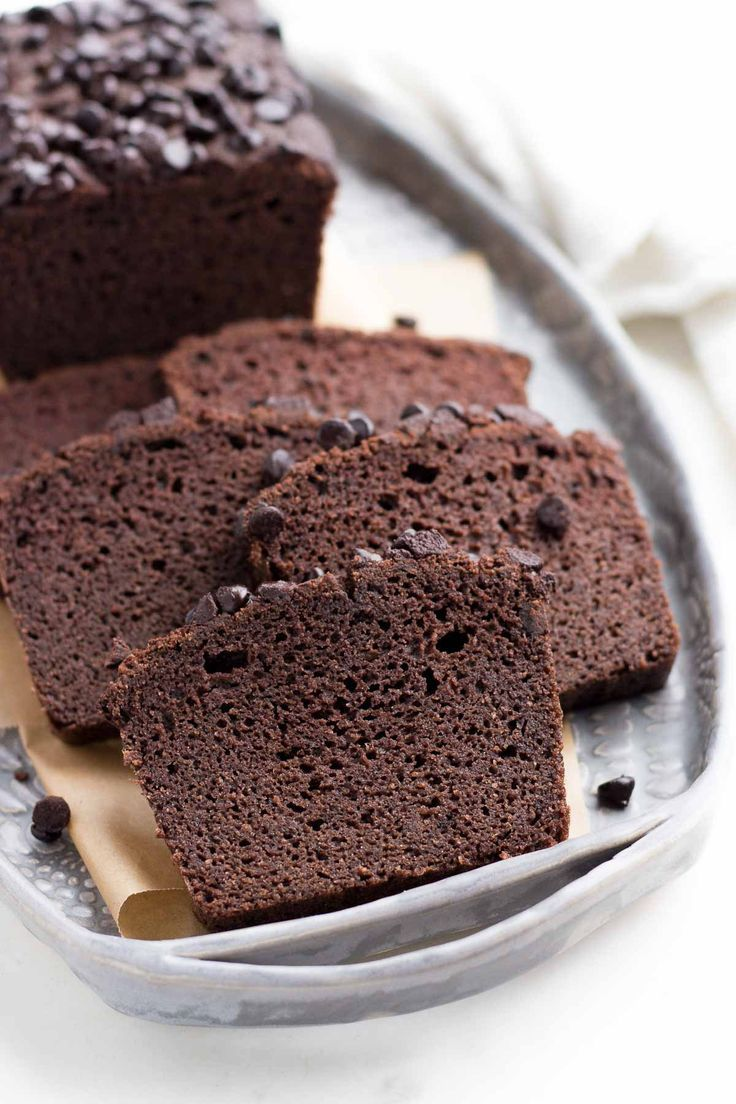 A Simple Low Carb Chocolate Cake Made Of Coconut Flour And