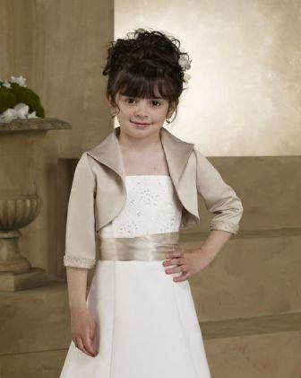 Flower Girl bolero jacket - First Communion Jackets - First ...