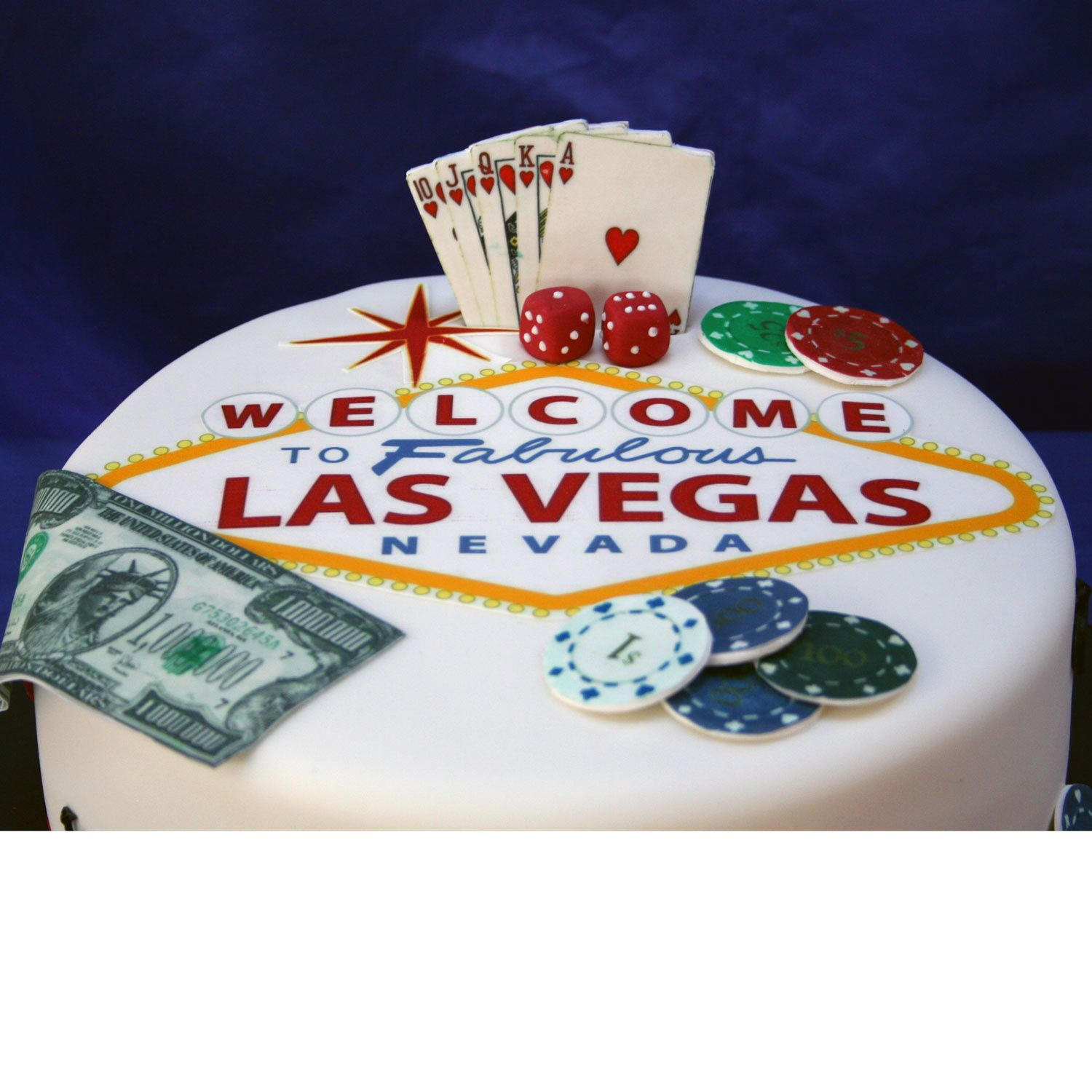 Welcome to Las Vegas Birthday Cake Cake ideas Pinterest Vegas
