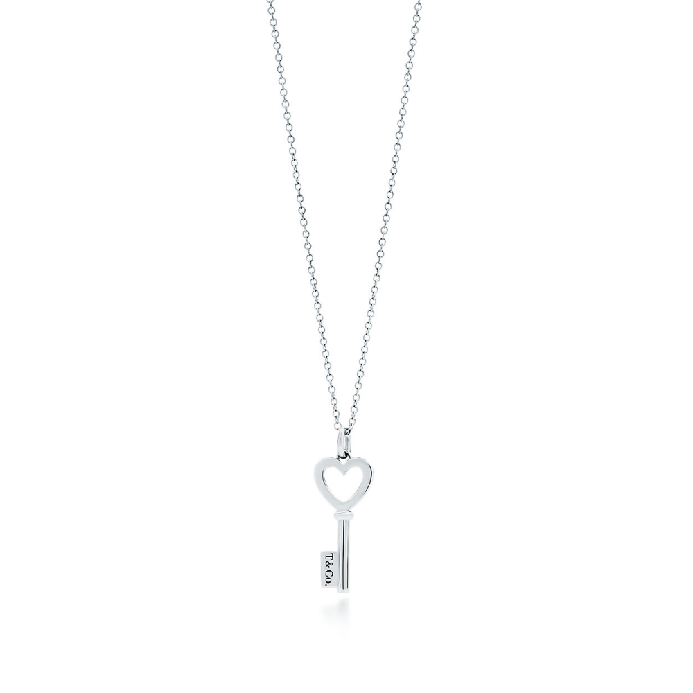 Tiffany Keys Heart Key Pendant In Sterling Silver Mini Tiffany Co Tiffany Key Heart Key Pendant Silver Key Necklace