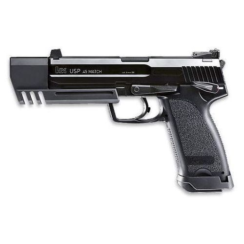 Here is a better picture but in black. Heckler & Koch USP Match .45 Caliber