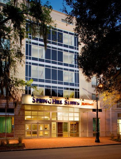 Enjoy A Convenient Location Among Savannah Hotels Near The Civic Center When You Stay At Springhill Suites Downtown Historic District By Marriott
