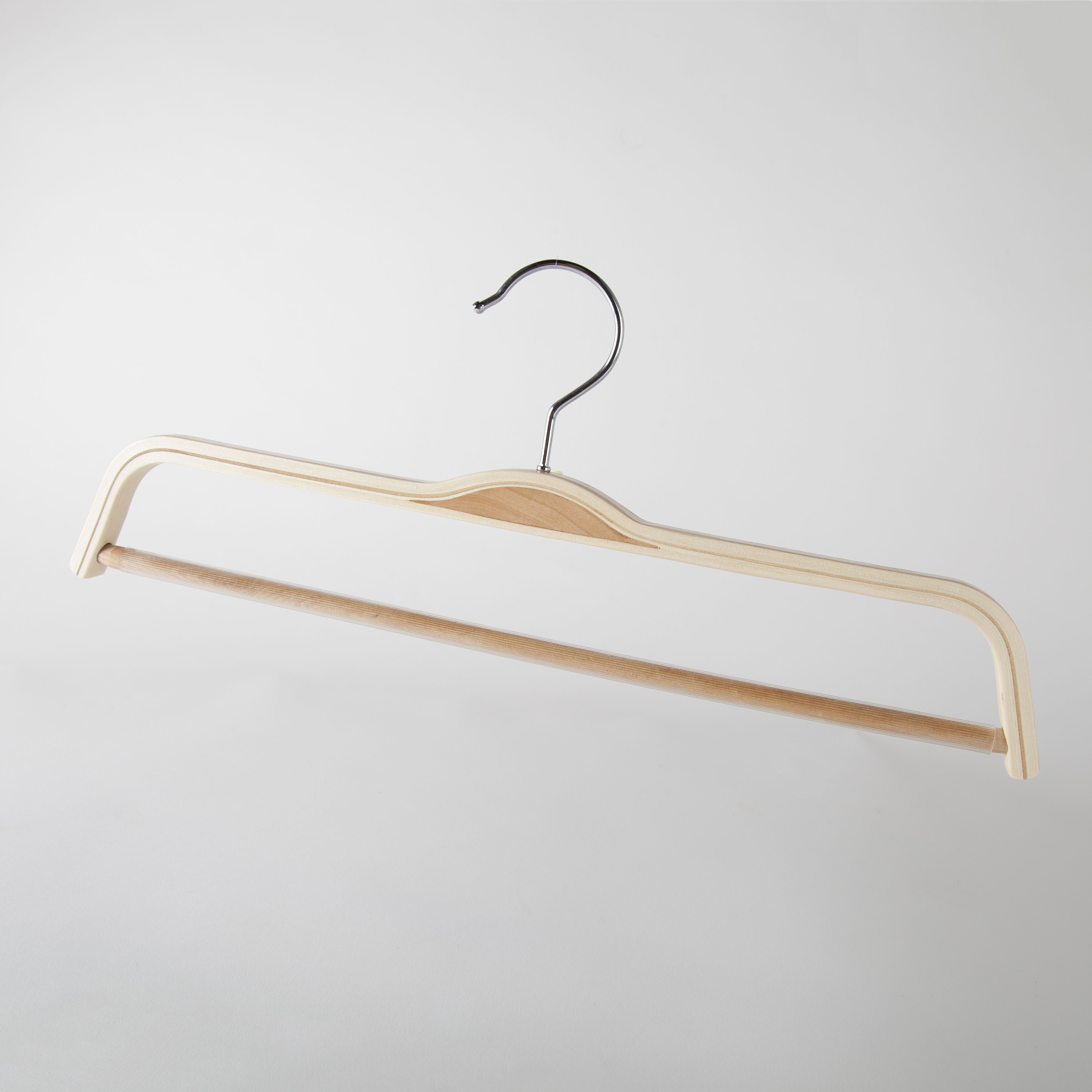 Wood Clothing Hangers Suit Coat Pant Hangers In Cedar Maple Oak