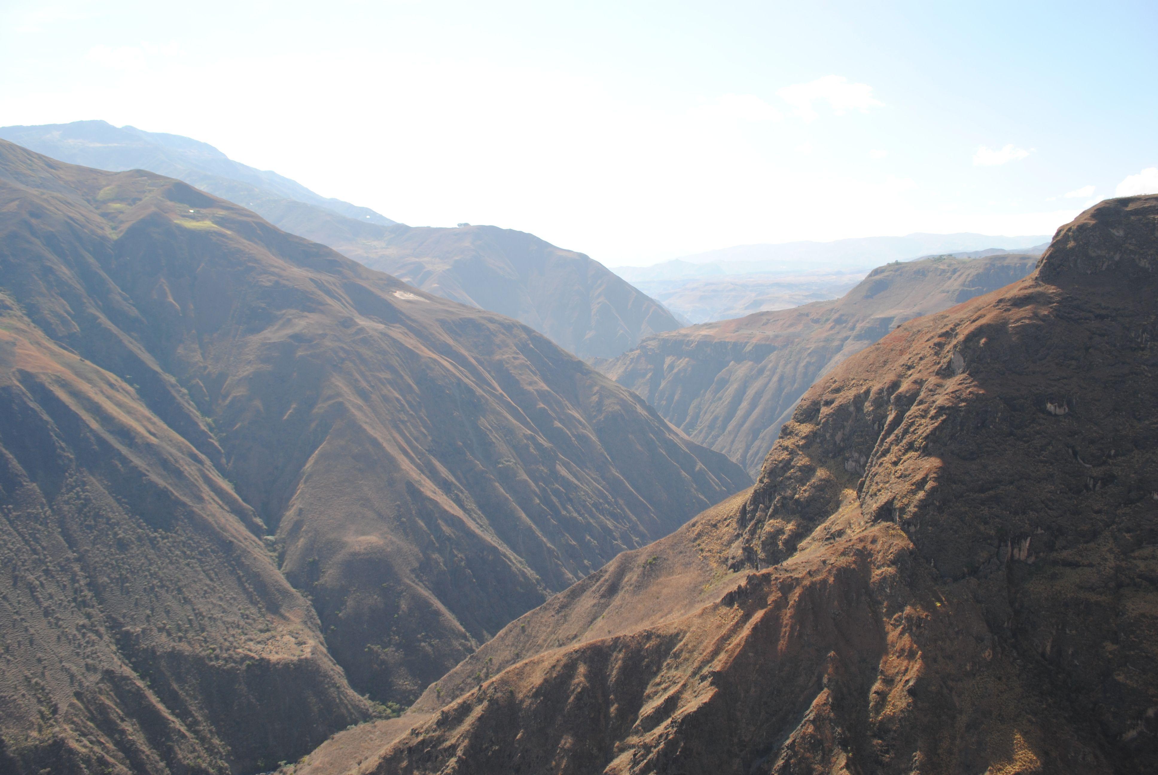 Montañas para vías escénicas