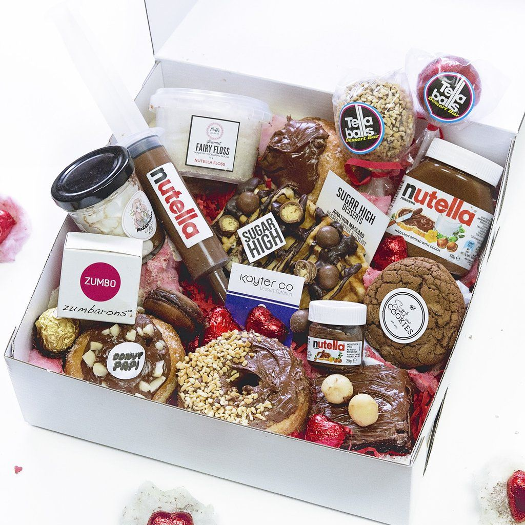 Dessert Dessert boxes, Food gifts, Food