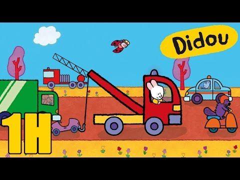 Camion de pompier camion poubelle voiture didou dessine - Dessiner un camion de pompier ...