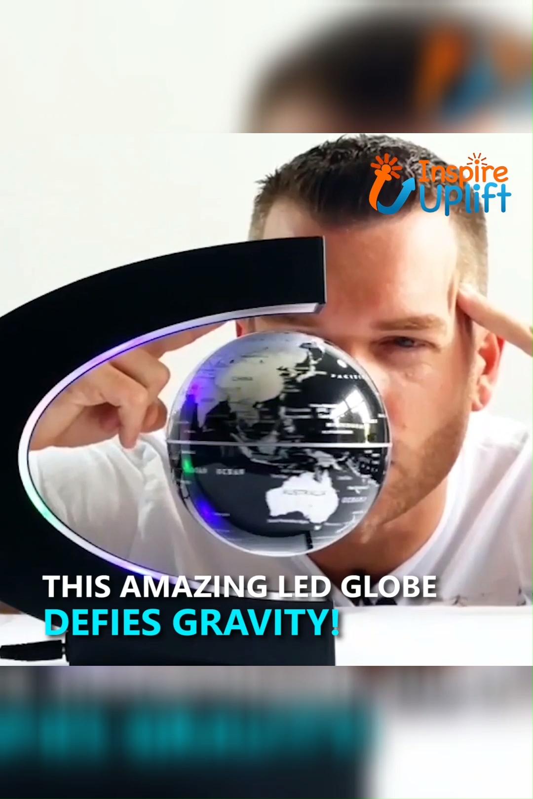 Led Floating Globe Lamp Video Floating Globe Globe Lamps Globe