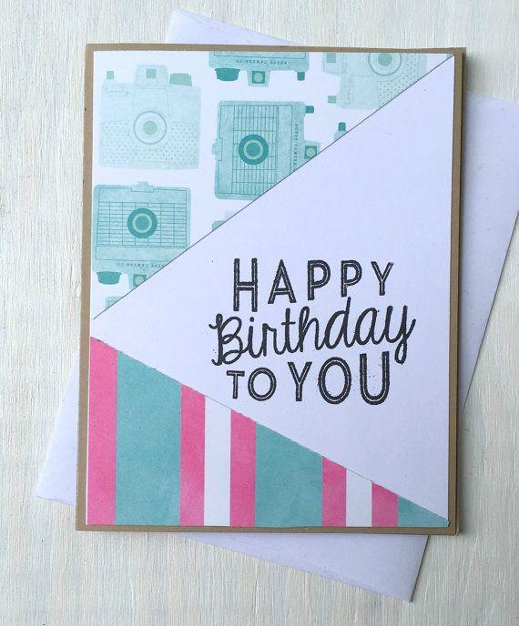 Happy Birthday Cards Birthday Cards Handmade Birthday Card For
