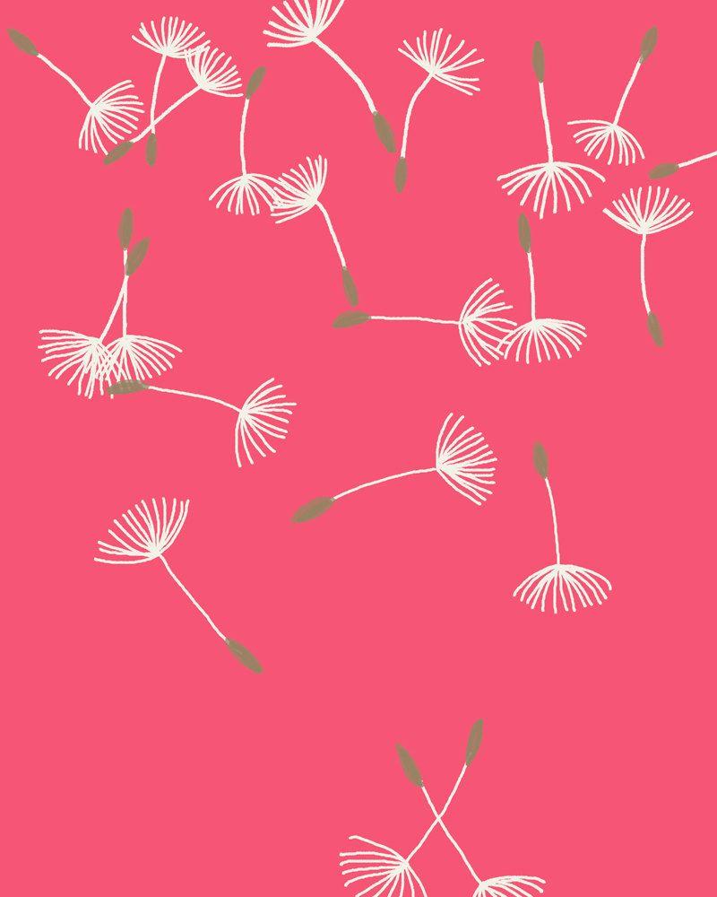 Fine Art Print.  Dandelion Puffs Scattered.  September 7, 2011.. $80.00, via Etsy.