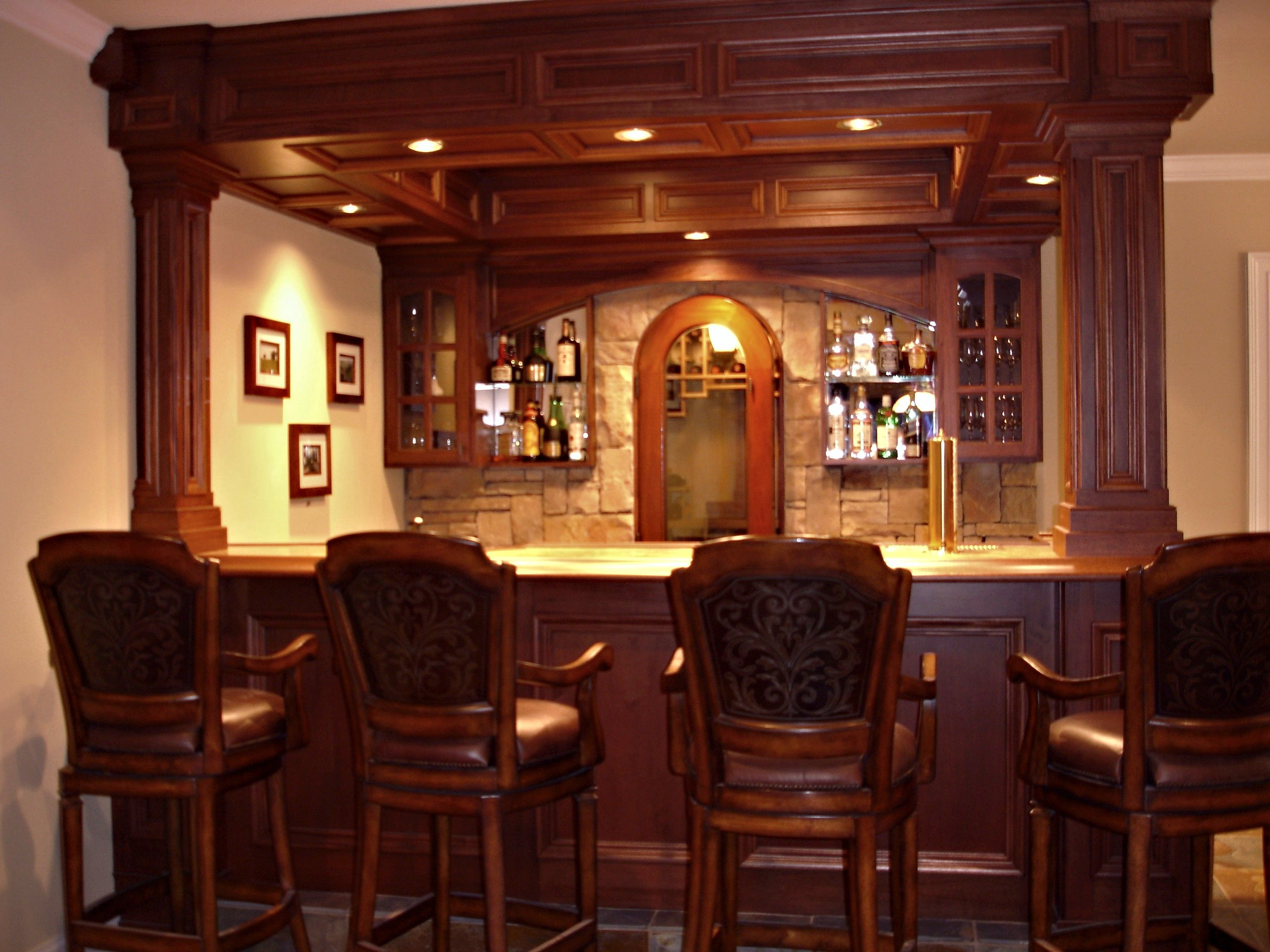 home bars pictures | How to build a custom residential bar ...