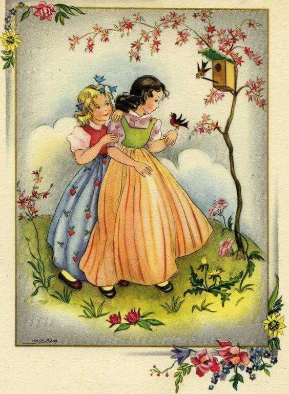 Pin de grammy peggy lea en art pinterest - Ilustraciones infantiles antiguas ...