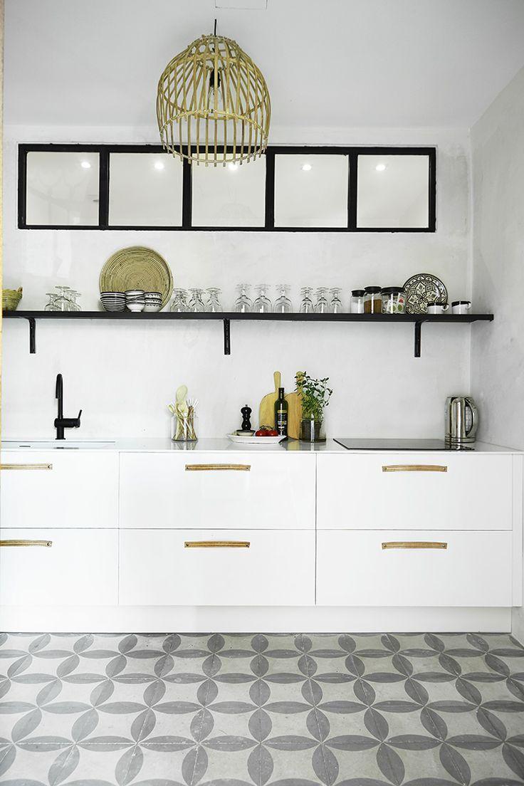 danish designer tine k's home on mallorca, spain | kitchen