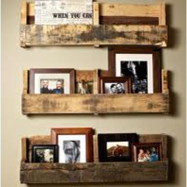 Upcycling/pallet shelving