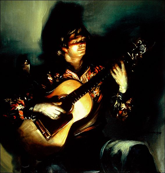 Frank Mason El Leton Flamenco Guitarist