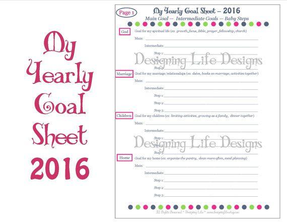 2016 New Years Resolution Worksheet Printables Superboomviafo
