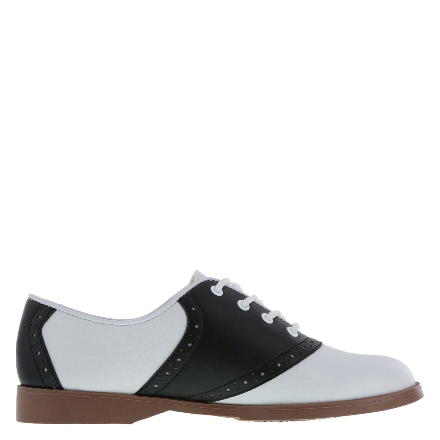 Predictions Womens Black White Saddle Oxford 10 Wide    For more  information 2a9d4e8271
