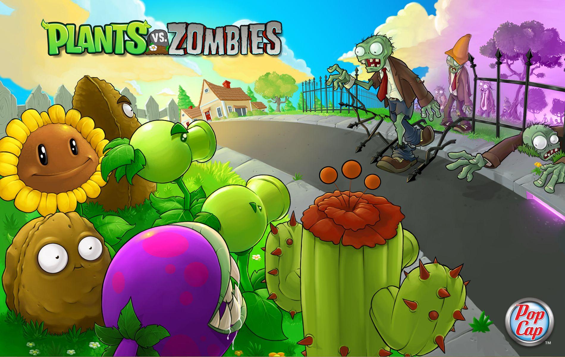Google chrome themes zombie - Google Image Result For Http Images5 Fanpop Com Image Photos 29000000 Plants Vs Zombies Wallpaper Plants Vs Zombies 29019425 1900 1200 Jpg Pinterest I