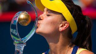 Sukces Agnieszki Radwańskiej  http://sport.tvn24.pl/fotogalerie/sukces-agnieszki-radwanskiej,40224.html