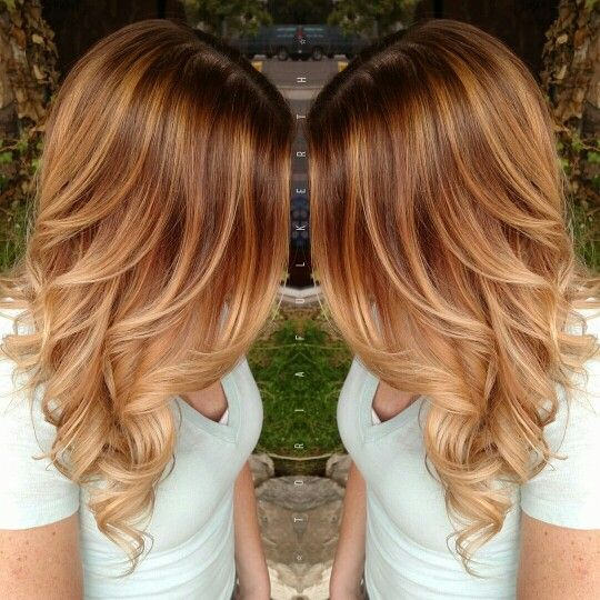 Photo of Golden Blonde Balayage and hotheads hair extensions