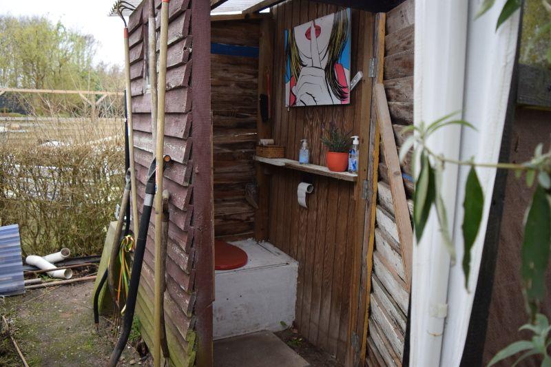 Toilettes à compost d\u0027extérieur, chez Anders et Rikke Toilettes - construction toilette seche exterieur