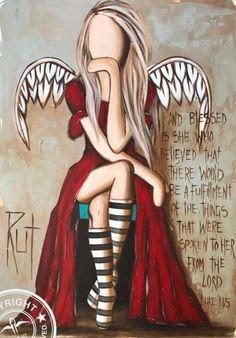rut art ile ilgili görsel sonucu | Angels | Art, Angel art ...