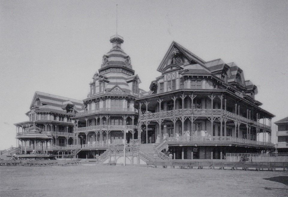 The Beach Hotel Galveston 1890 119 Rooms