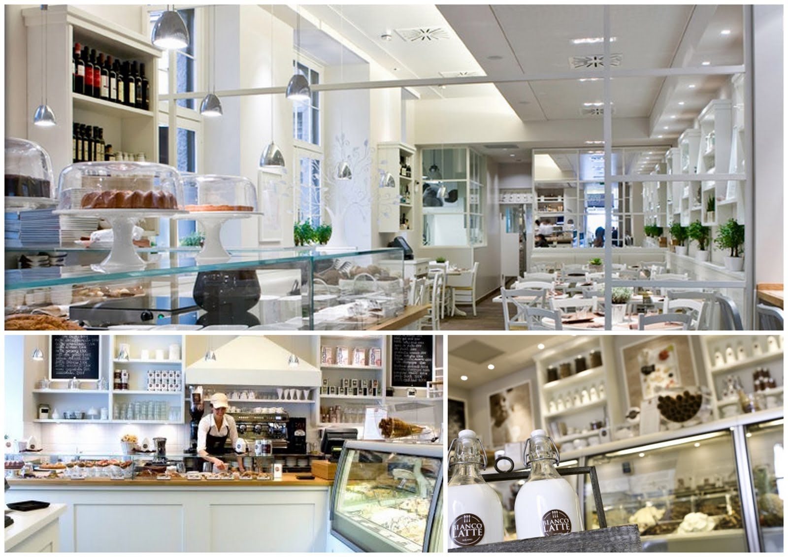 Biancolatte is what the Milanesi love to call a design bar: white is ...