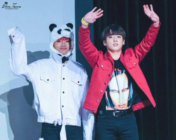 BTS 방탄소년단 || 160513 Fansign || V 뷔, JungKook 정국