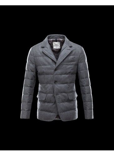 Moncler Rodin Jacket Men Steel Grey - Moncler #Moncler #men #backtoschool #FW15